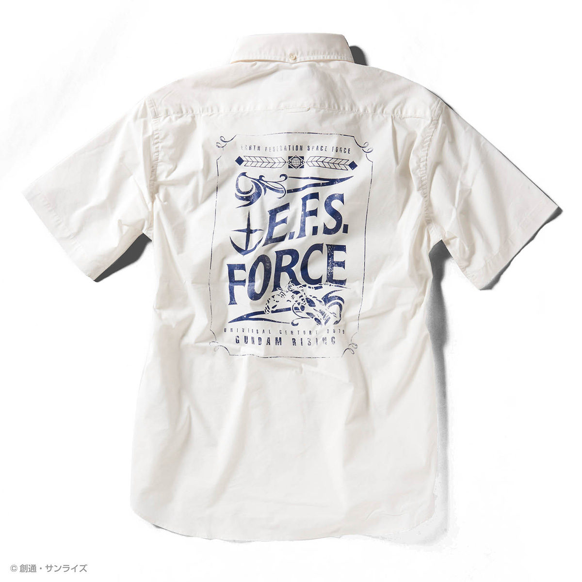 STRICT-G『機動戦士ガンダム』 クールマックス 半袖ボタンダウンPt.シャツ E.F.S.F.