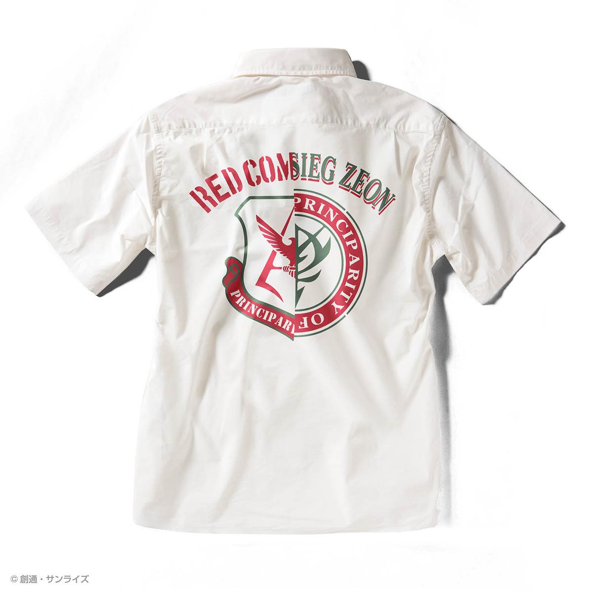 STRICT-G『機動戦士ガンダム』 クールマックス 半袖オープンカラーPt.シャツ RED COMET