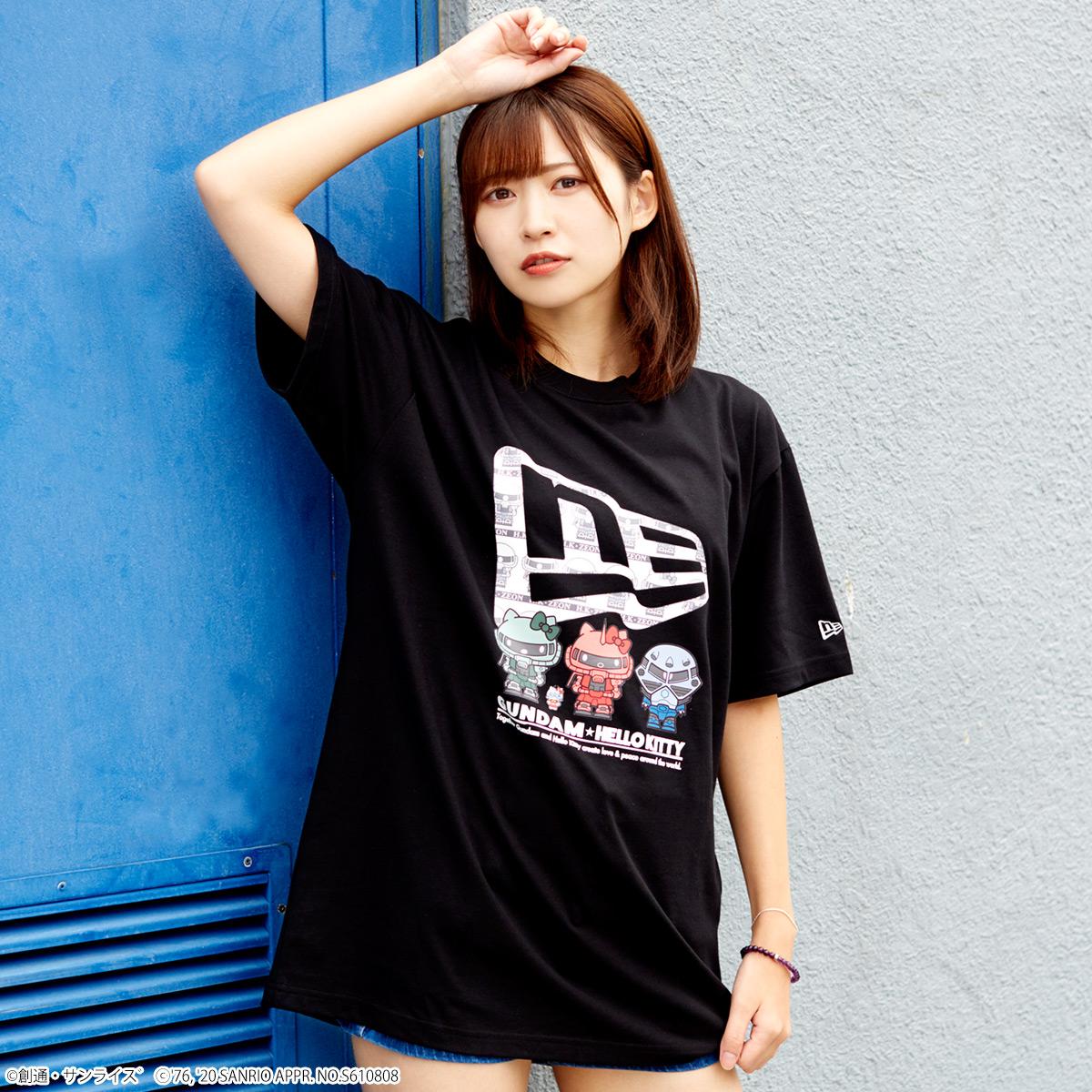 STRICT-G NEW ERA 『ガンダム★ハローキティ』Tシャツ ジオン軍