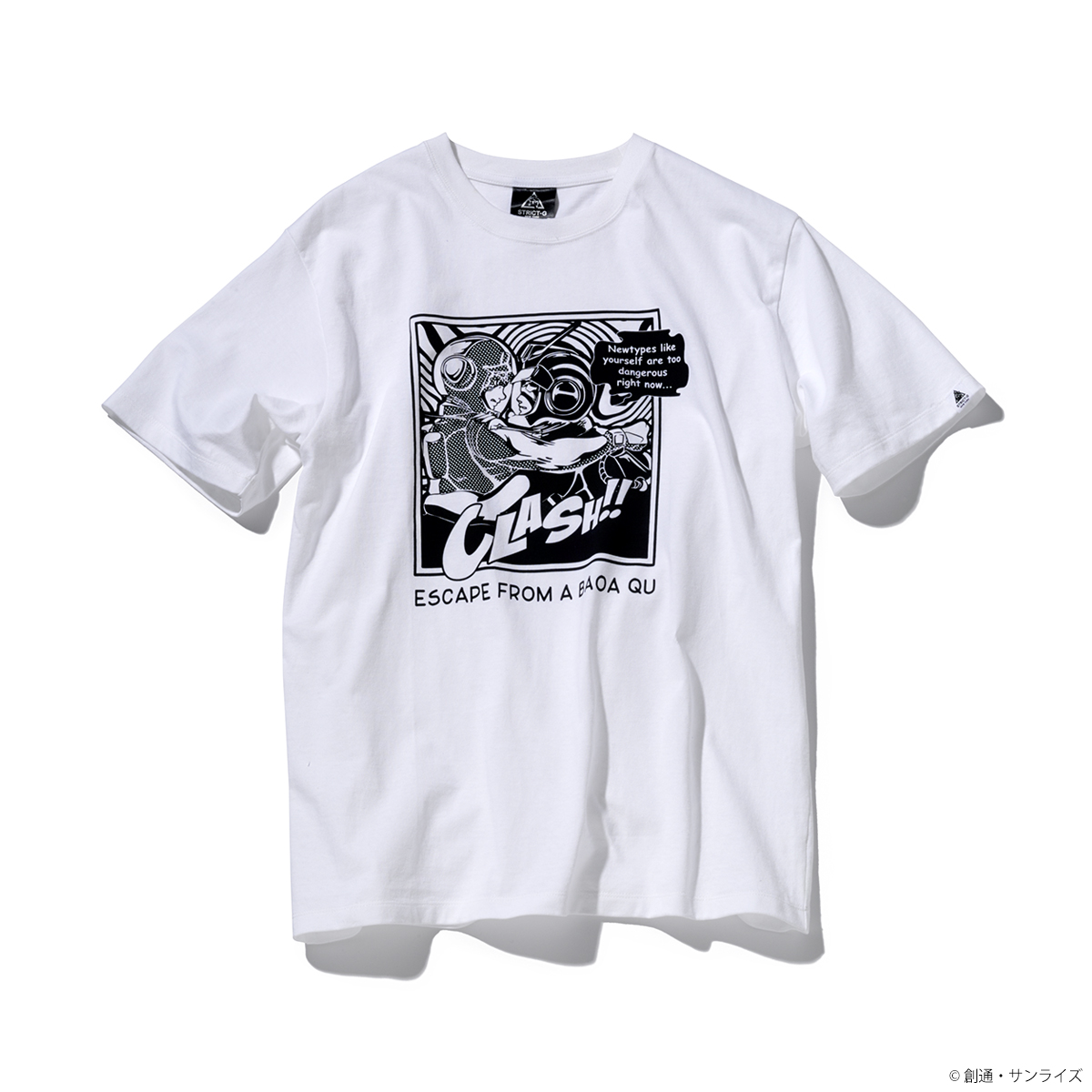 STRICT-G NEW YARK Tシャツ  CLASH!柄