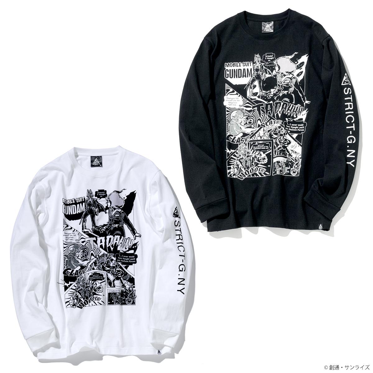 STRICT-G NEW YARK 長袖Tシャツ コミック柄