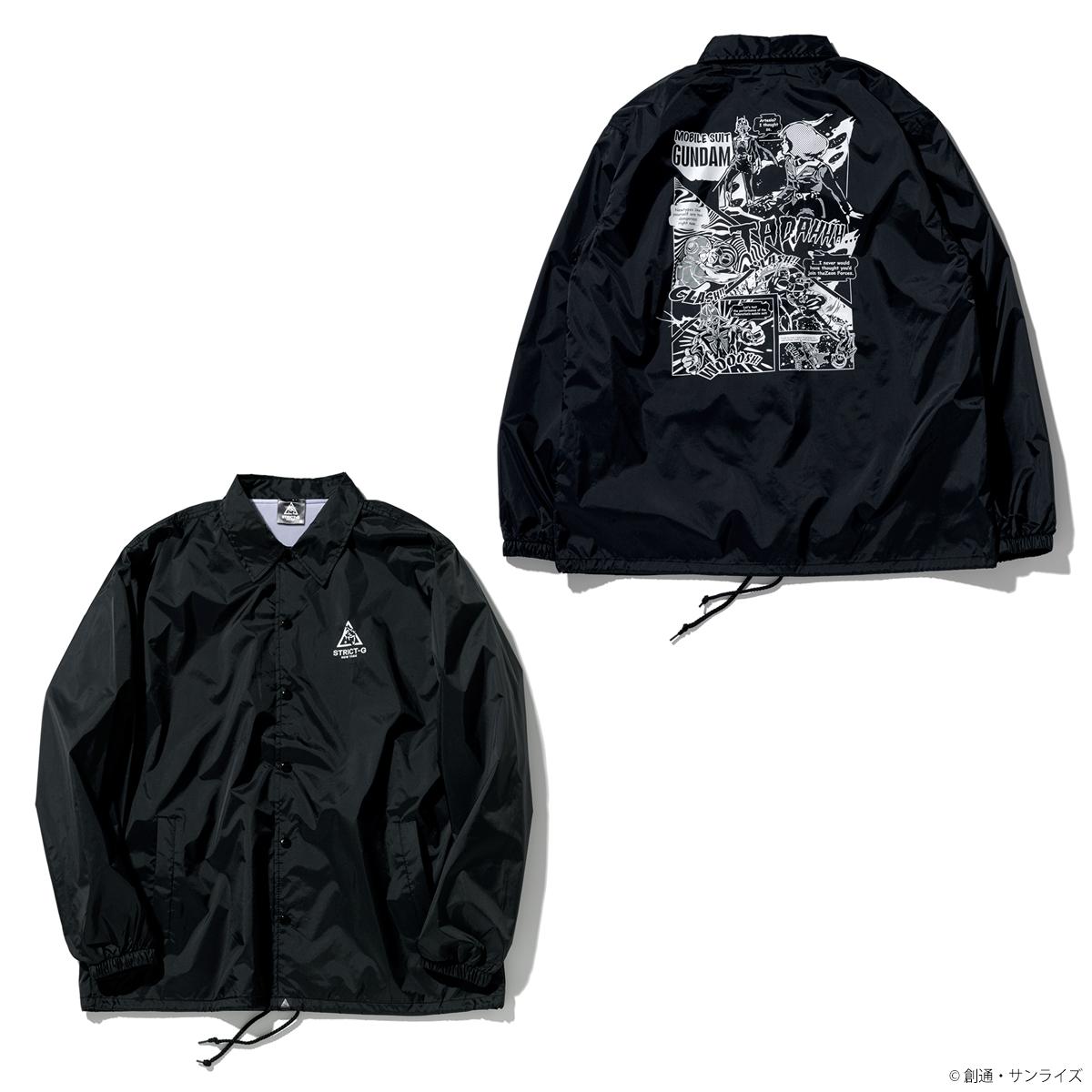 STRICT-G NEW YARK コーチジャケット コミック柄