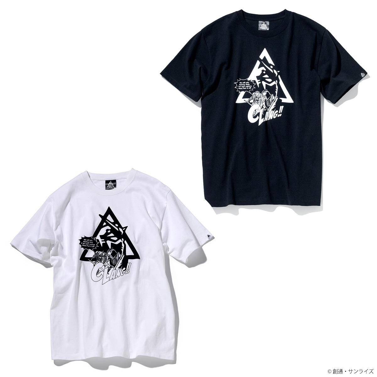 STRICT-G NEW YARK Tシャツ  トライアングルロゴコミック柄