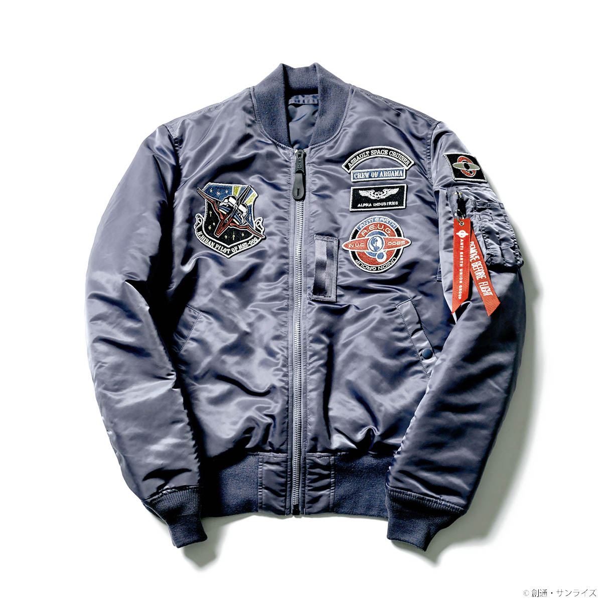 STRICT-G × ALPHA INDUSTRIES  MA-1『機動戦士Zガンダム』エゥーゴモデル