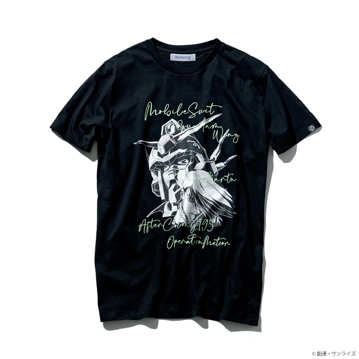 STRICT-G 『新機動戦記ガンダムW』 Tシャツ トロワ・バートン