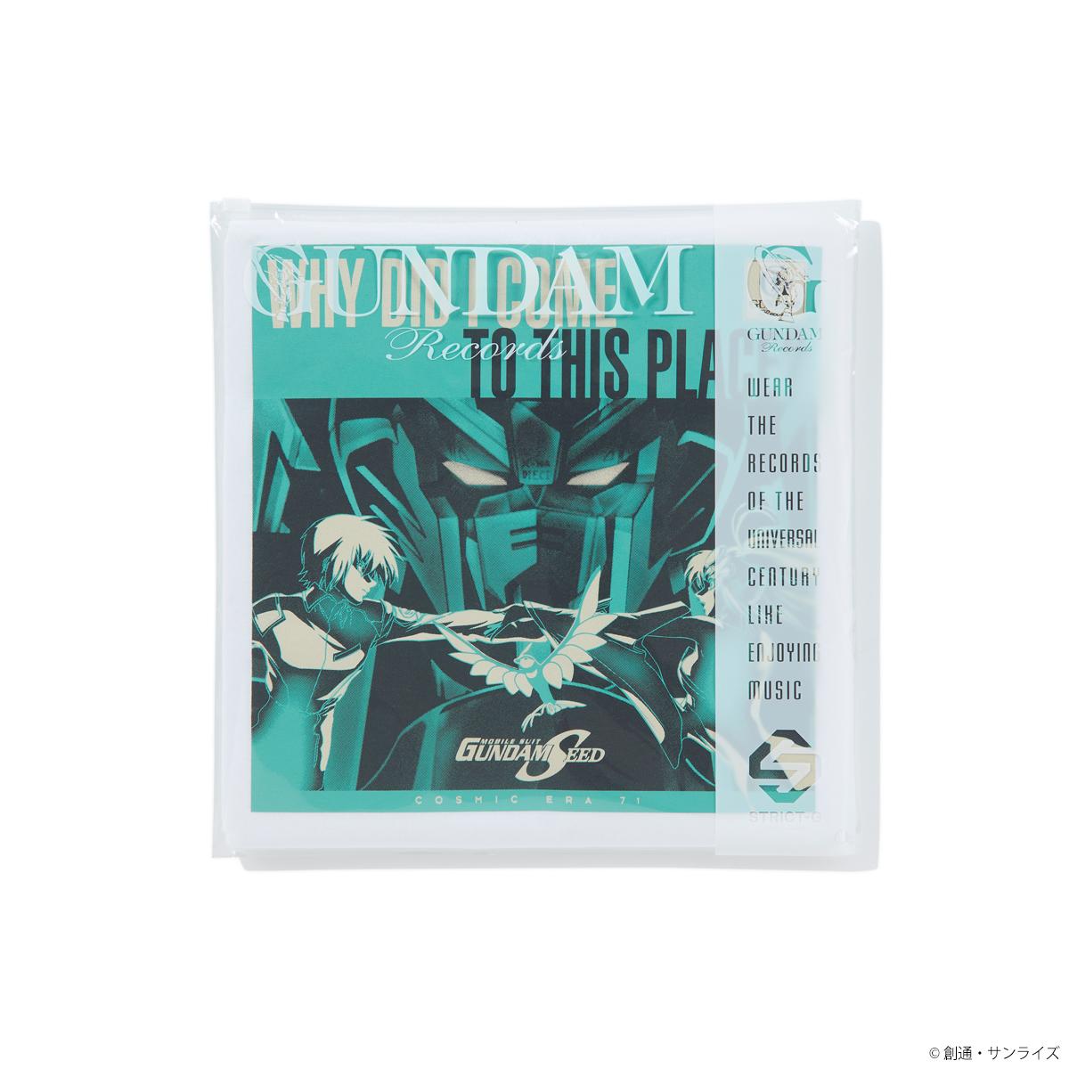 """""""ガンダムの記憶(レコード)を着る""""Tシャツシリーズ第四弾!GUNDAM RECORDSより『ガンダムSEED』他、全3タイトル発売"""
