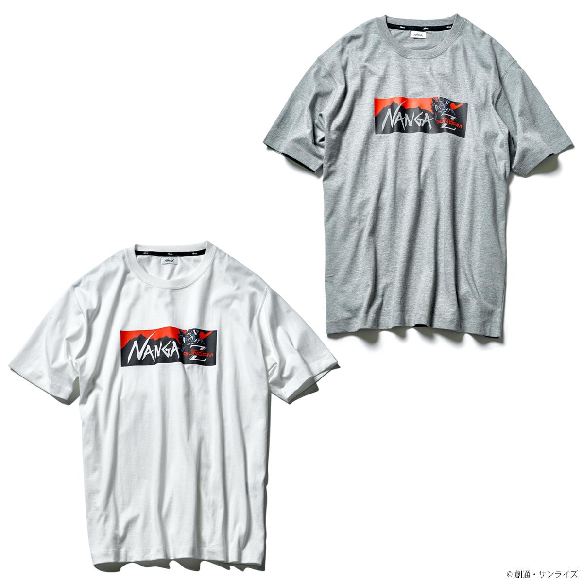 STRICT-G × NANGA 『機動戦士Zガンダム』35周年記念 ロゴデザインTシャツ