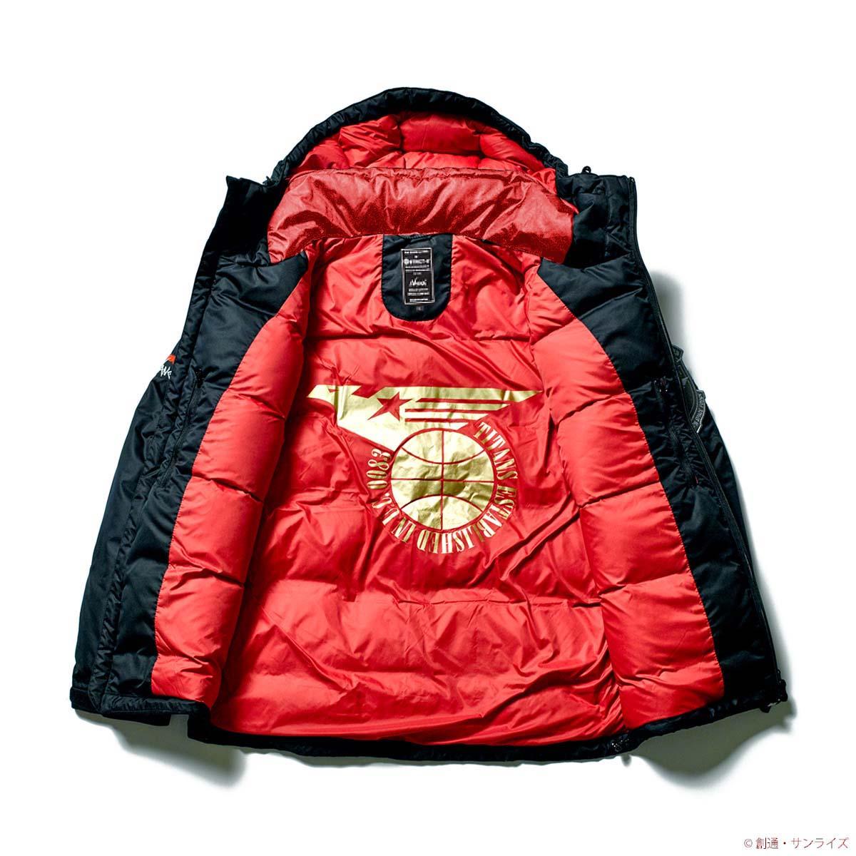 『機動戦士Zガンダム』35周年記念 NANGAとのコラボダウンジャケット発売!拘りが詰め込まれた、エゥーゴ/ティターンズ/クワトロ・バジーナの全3モデル