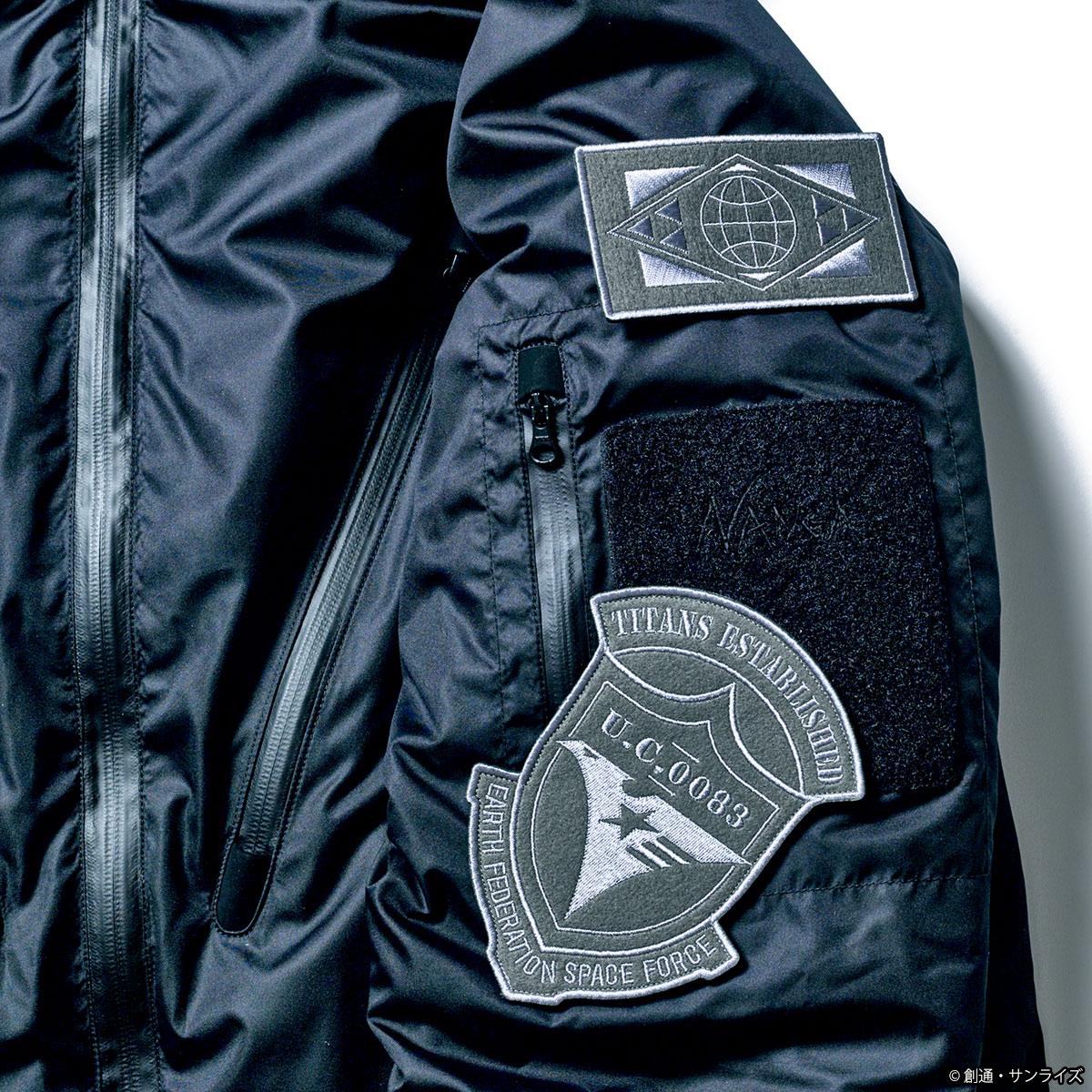 STRICT-G × NANGA 『機動戦士Zガンダム』35周年記念 ダウンジャケット ティターンズモデル