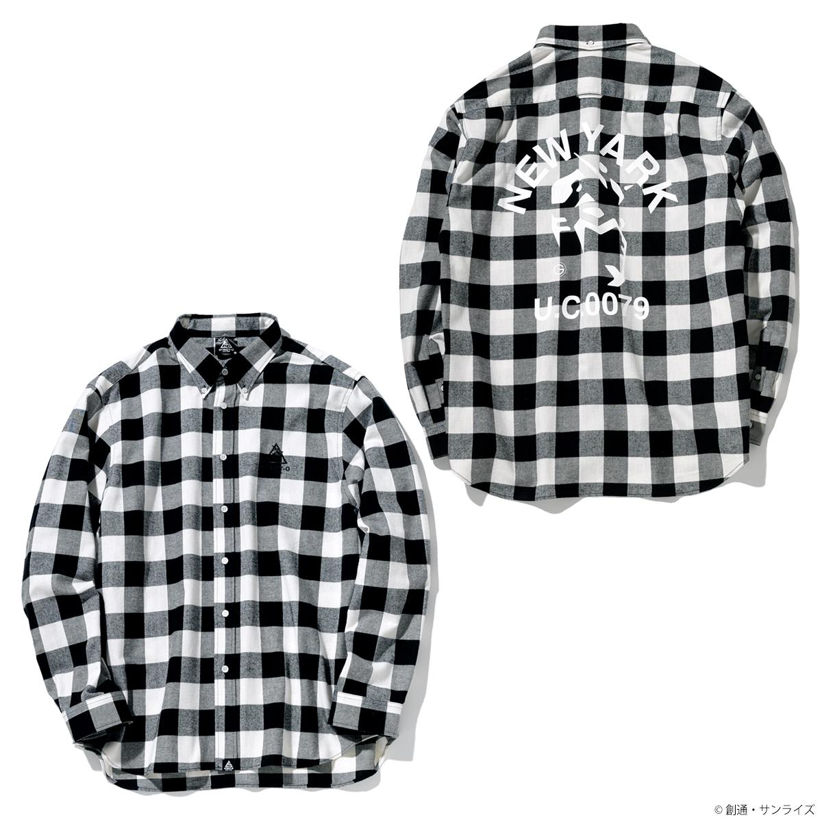 STRICT-G NEW YARK ロングスリーブシャツ ブロックチェック