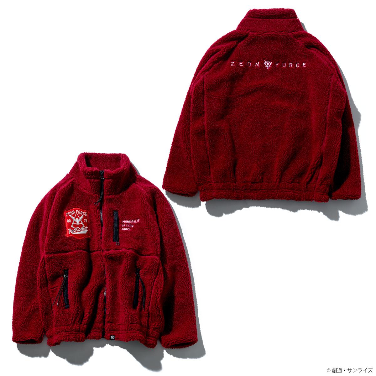 STRICT-G 『機動戦士ガンダム』ボアフリースジャケット RED COMETモデル
