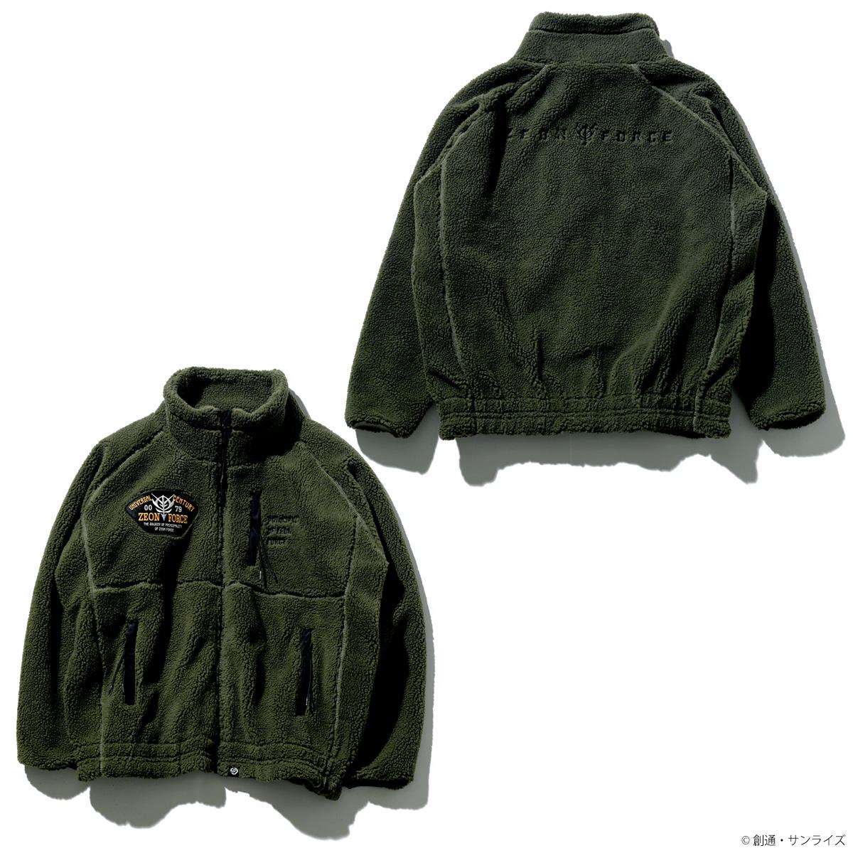 STRICT-G 『機動戦士ガンダム』ボアフリースジャケット ZEONモデル