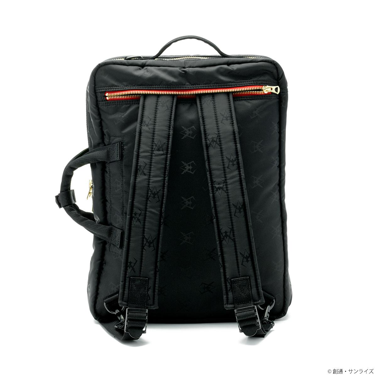 PORTER×ガンダムの新作コラボ、バッグや財布など全10種が登場!ジャカード織の、ジオン軍/RED COMETモデル。