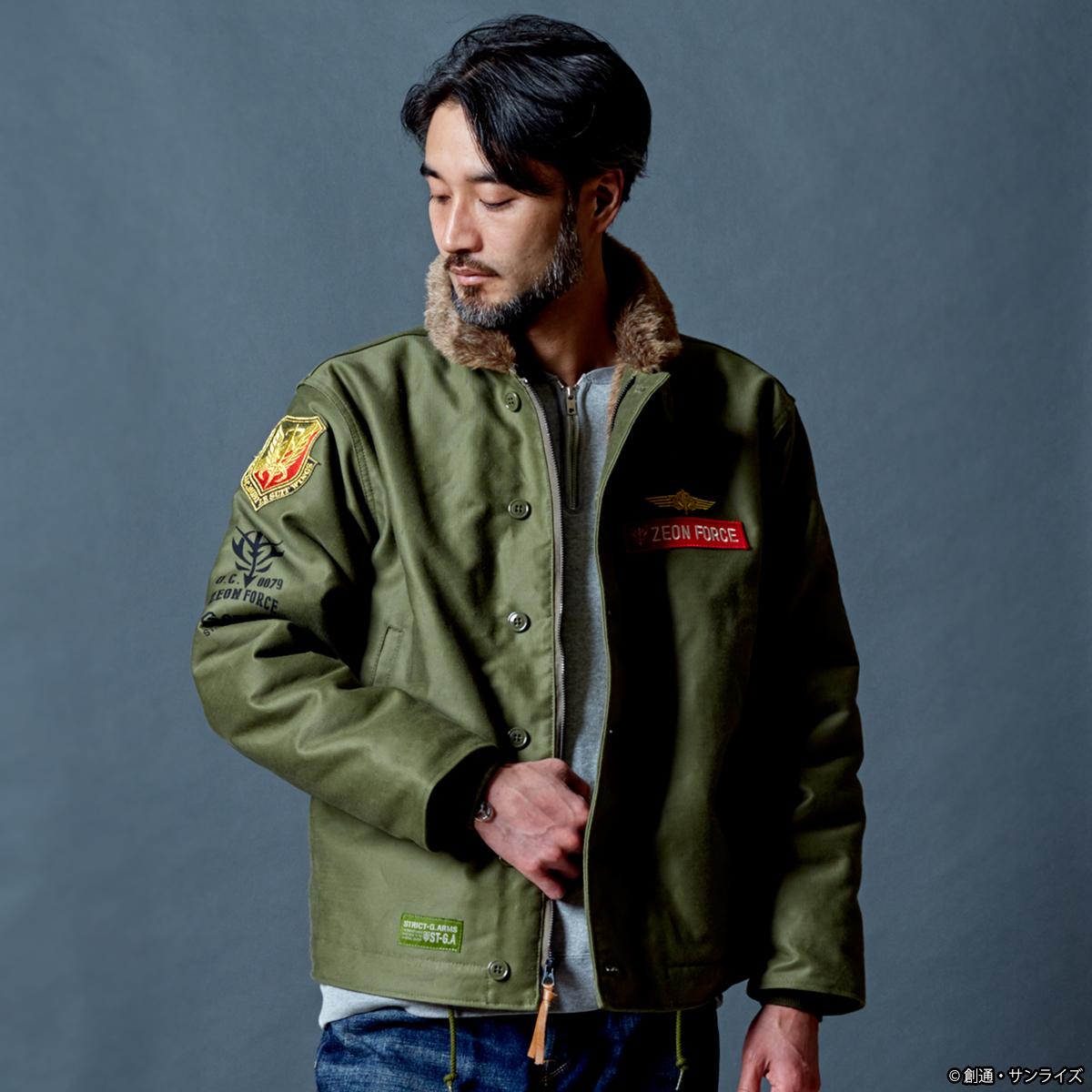 STRICT-G.ARMS『機動戦士ガンダム』N-1 デッキジャケット ジオン軍