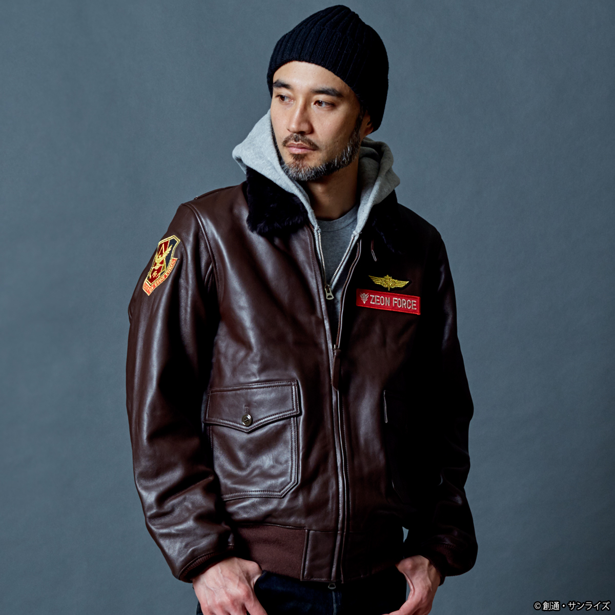 STRICT-G.ARMS『機動戦士ガンダム』G-1 レザージャケット RED COMET