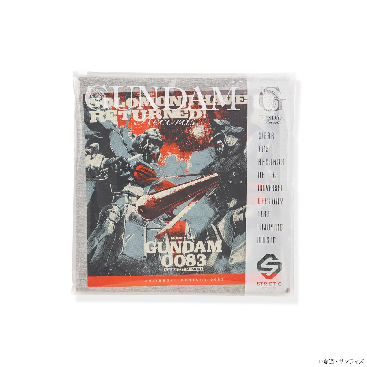 STRICT-G GUNDAM RECORDS 『機動戦士ガンダム 0083 STARDUST MEMORY』Tシャツ