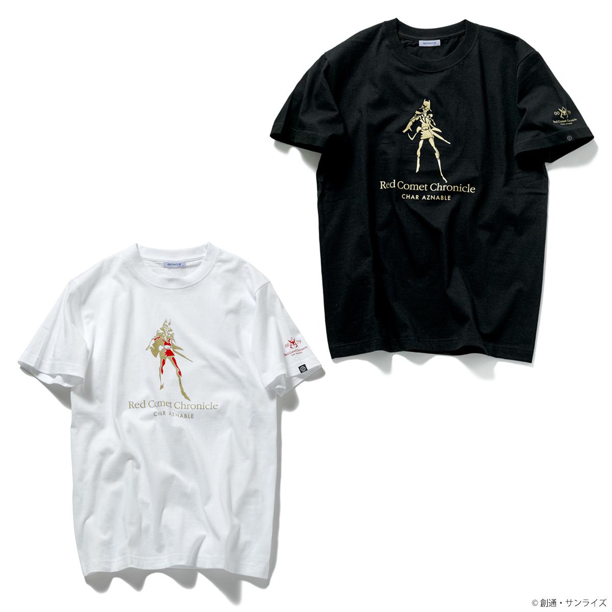 STRICT-G『機動戦士ガンダム』Red Comet Chronicle Tシャツ シャア・アズナブル