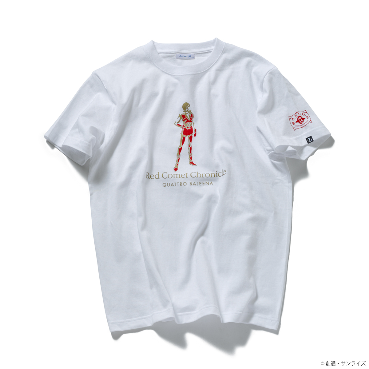 STRICT-G『機動戦士Zガンダム』Red Comet Chronicle Tシャツ クワトロ・バジーナ