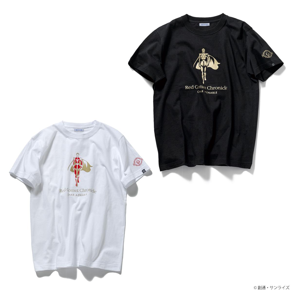 STRICT-G『機動戦士ガンダム 逆襲のシャア』Red Comet Chronicle Tシャツ シャア・アズナブル
