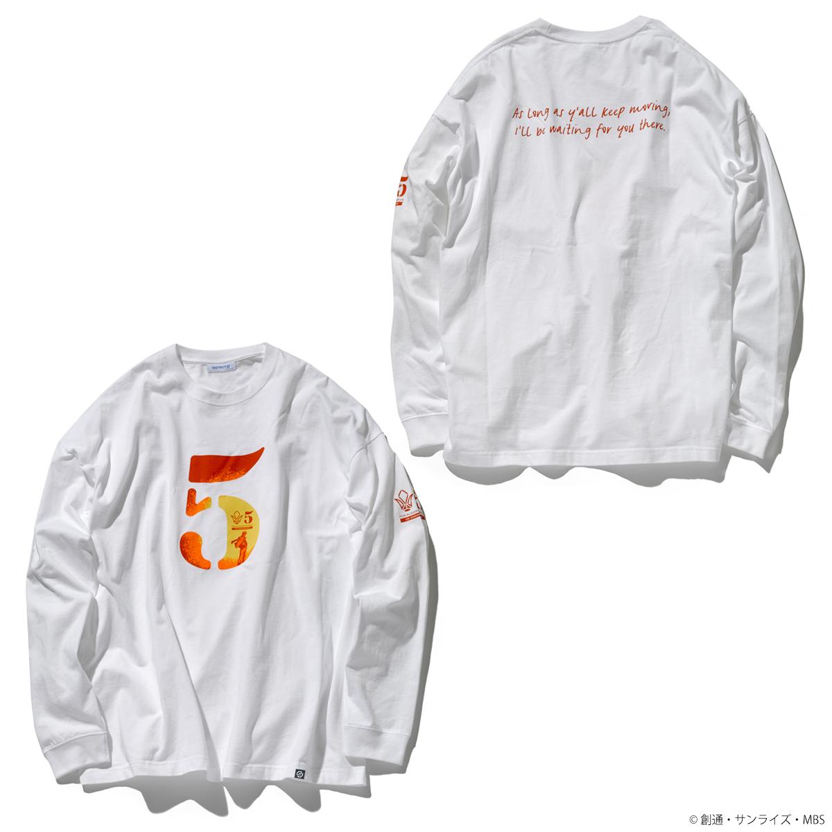 STRICT-G『機動戦士ガンダム 鉄血のオルフェンズ』 ビッグ長袖Tシャツ 5周年記念