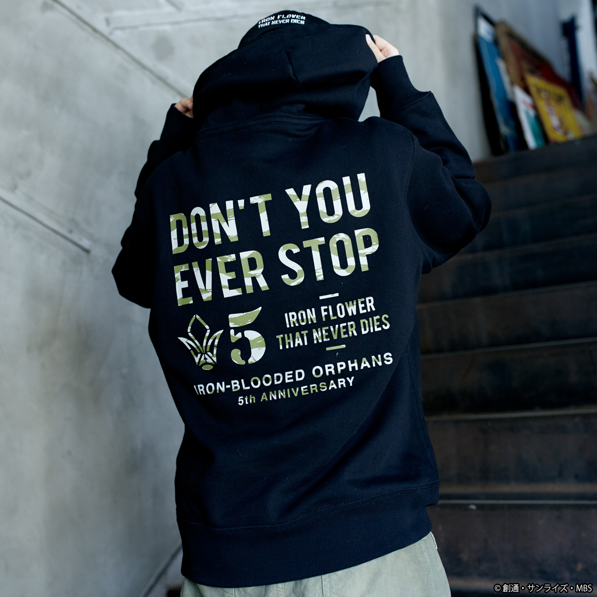 STRICT-G『機動戦士ガンダム 鉄血のオルフェンズ』 パーカー 5周年記念