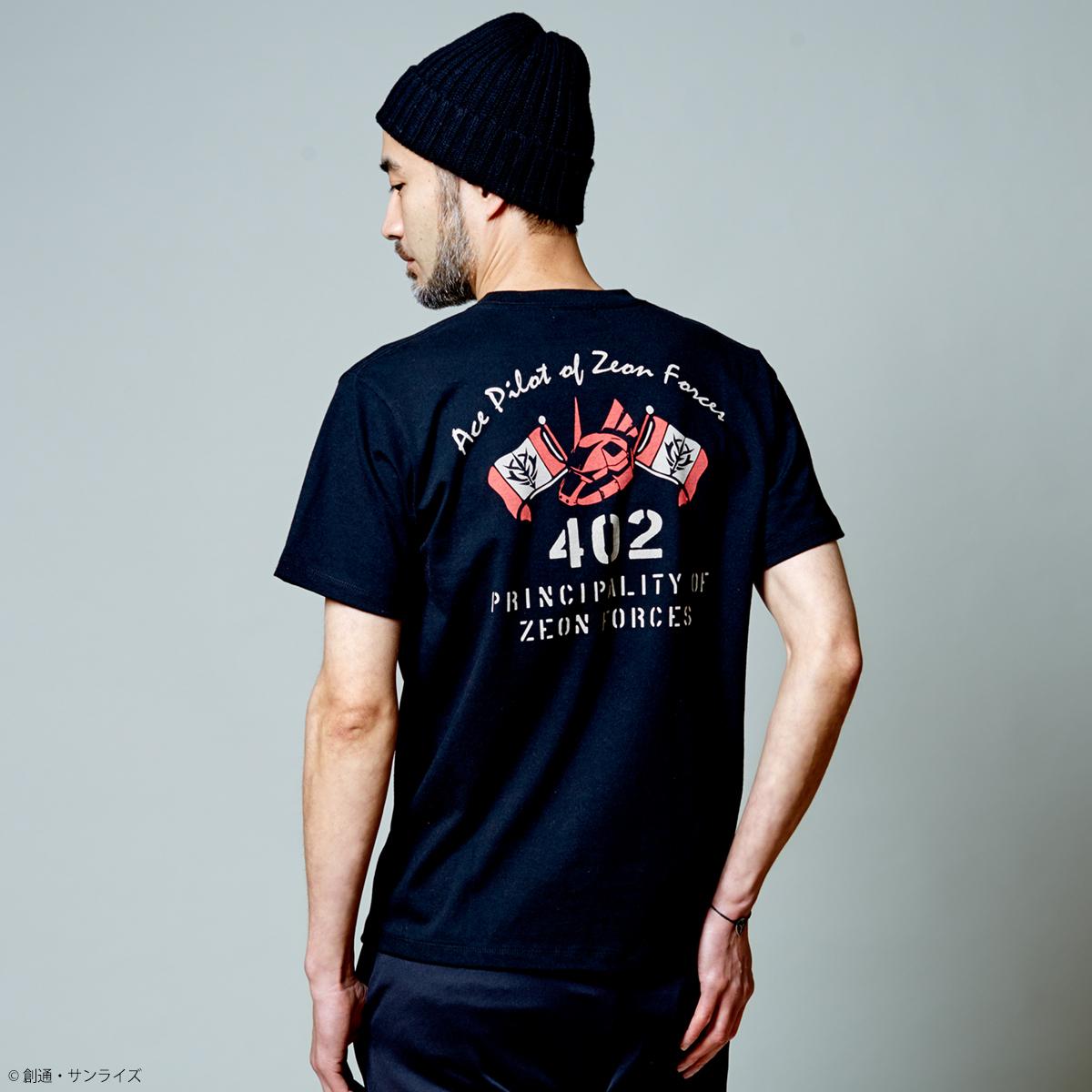 STRICT-G.ARMS『機動戦士ガンダム』 Tシャツ 深紅の稲妻