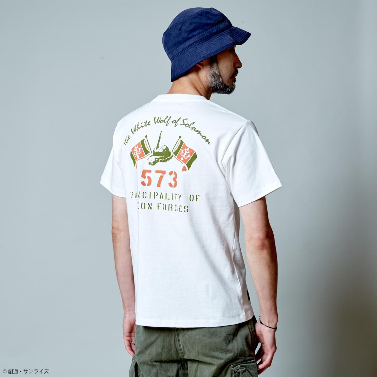 STRICT-G.ARMS『機動戦士ガンダム』 Tシャツ ソロモンの白狼