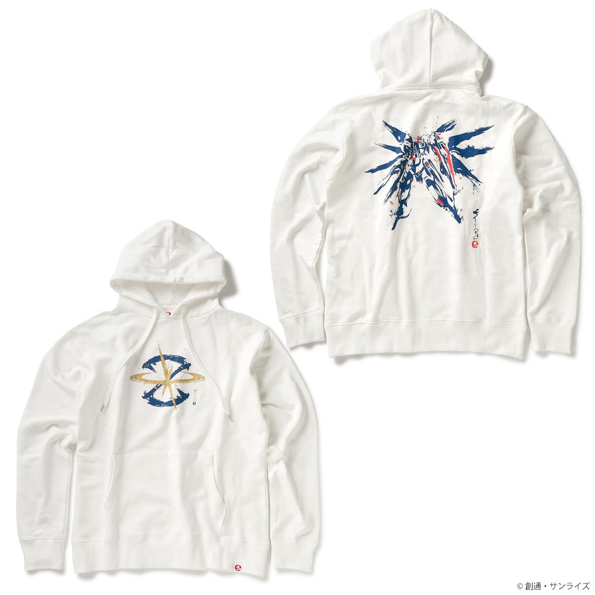STRICT-G JAPAN 『機動戦士ガンダムSEED』 パーカー 筆絵風フリーダムガンダム柄