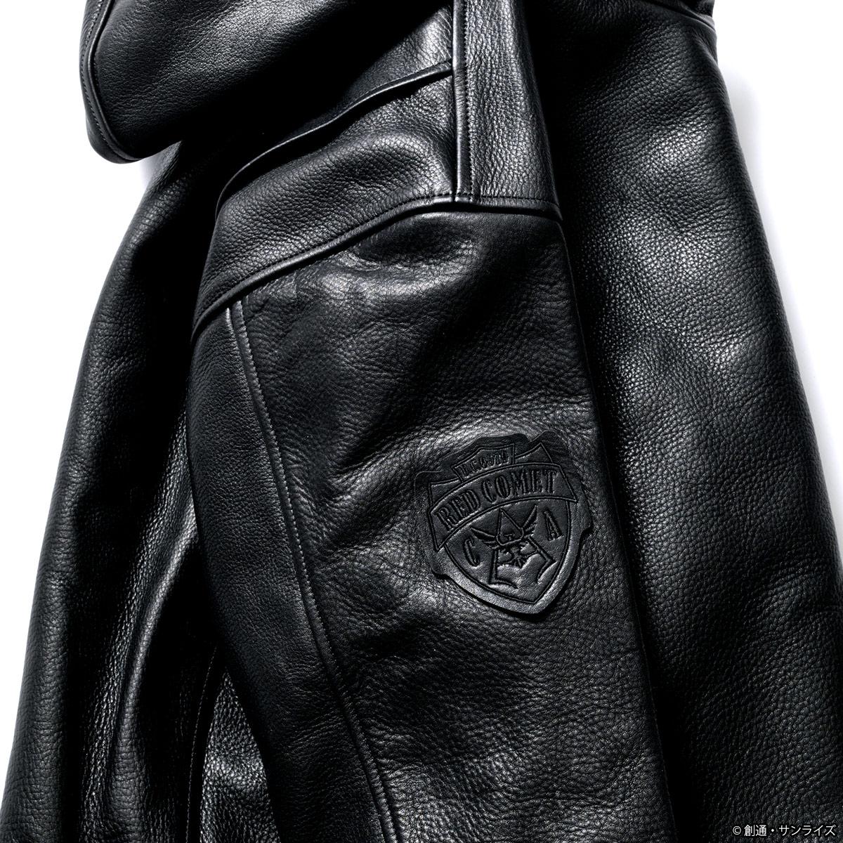 STRICT-G SEVESKIG 『機動戦士ガンダム』フーディライダースジャケット シャアモデル