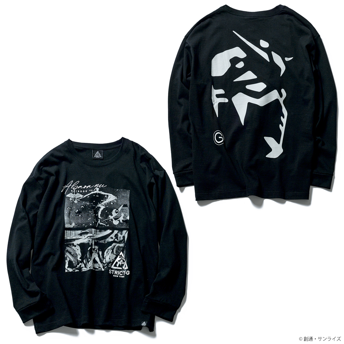 STRICT-G NEW YARK 長袖ビッグTシャツ A BAOA QU