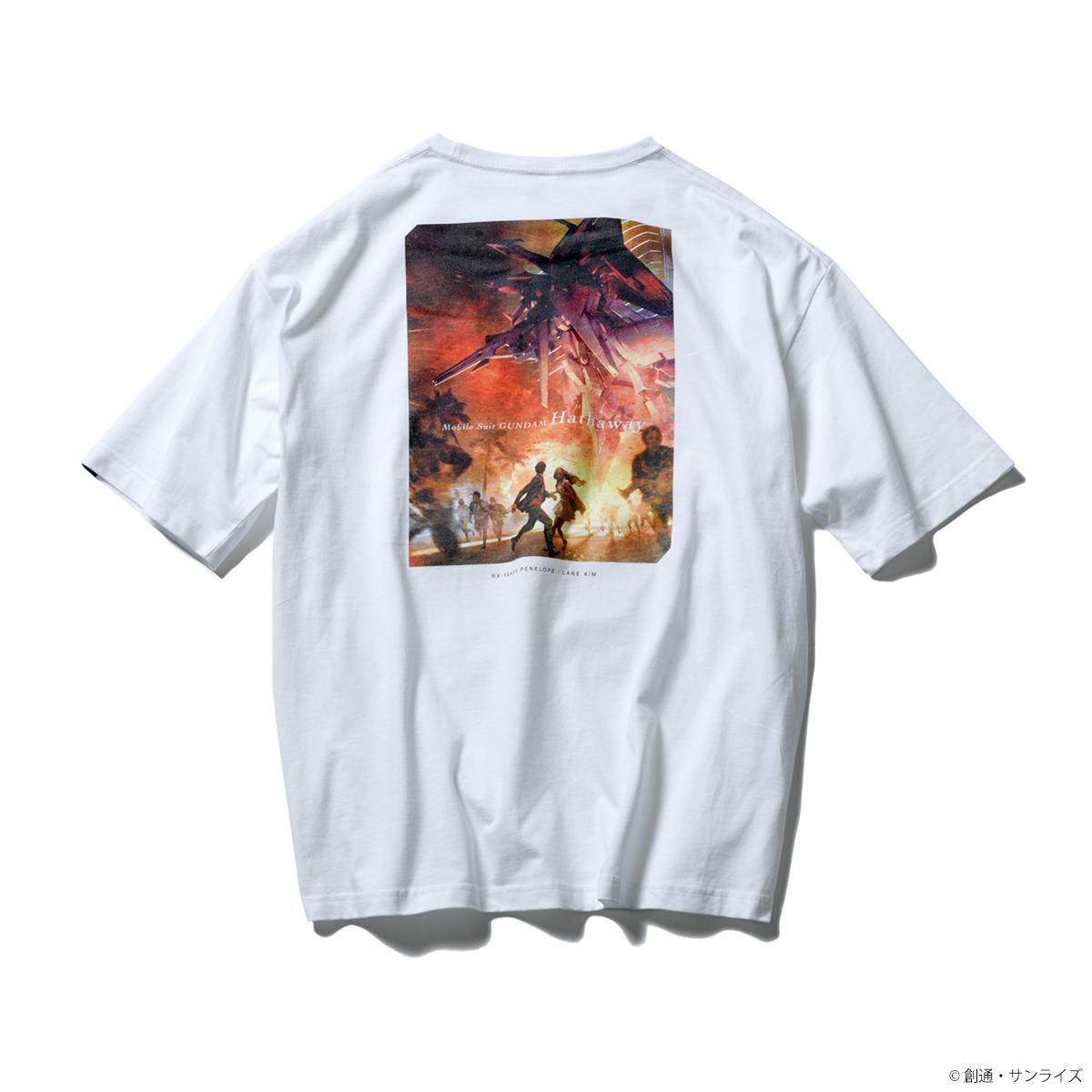 STRICT-G『機動戦士ガンダム 閃光のハサウェイ』 ポケット付きビッグTシャツ コンセプトビジュアル
