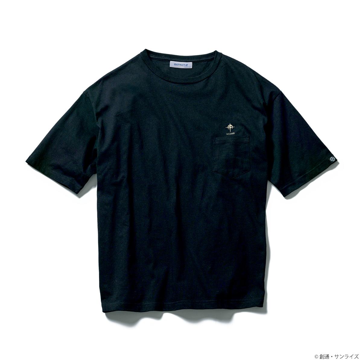 STRICT-G『機動戦士ガンダム 閃光のハサウェイ』 ポケット付きビッグTシャツ ティザービジュアル