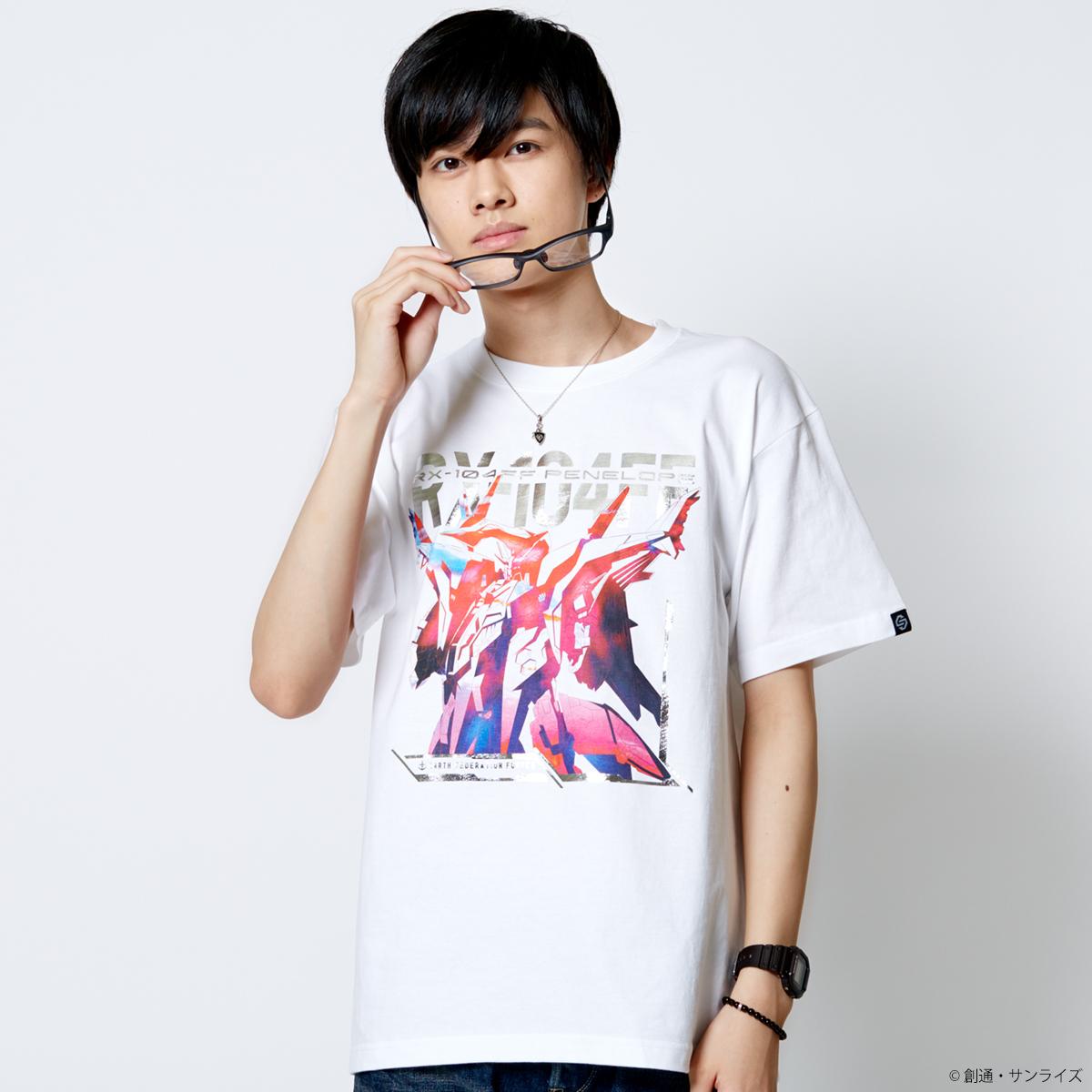 STRICT-G『機動戦士ガンダム 閃光のハサウェイ』 Tシャツ 箔グラデーション ペーネロペー