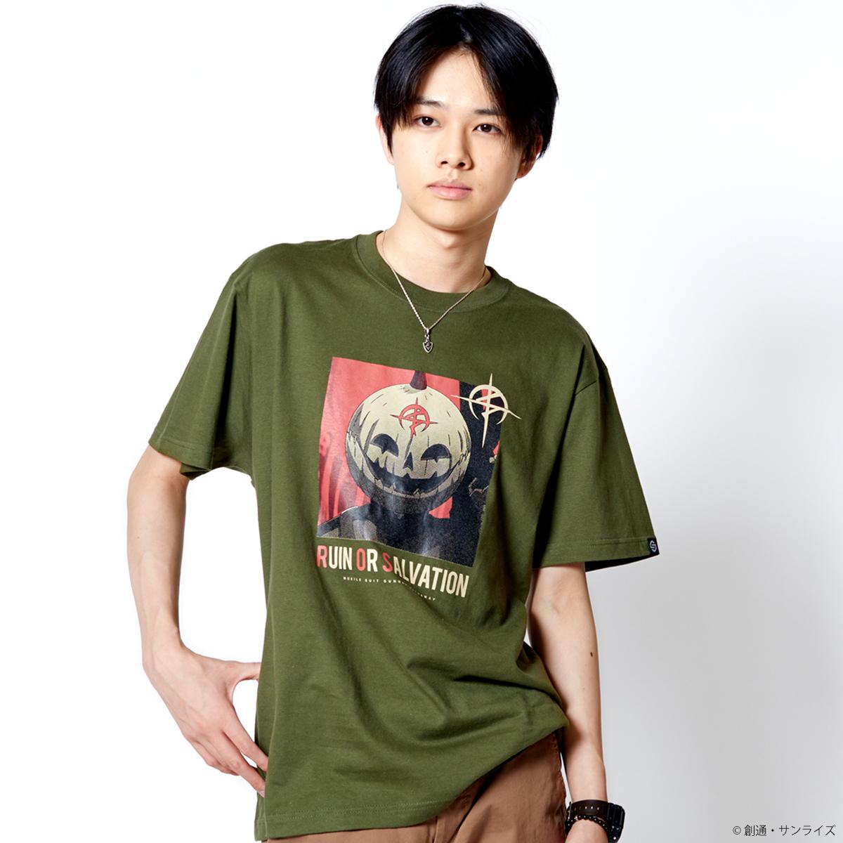 STRICT-G『機動戦士ガンダム 閃光のハサウェイ』 Tシャツ パンプキン