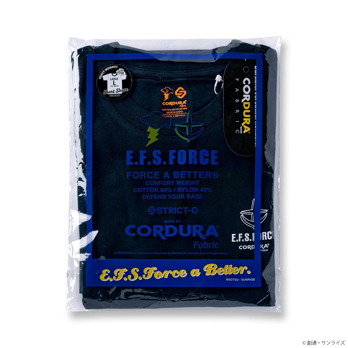 STRICT-G FAB『機動戦士ガンダム』CORDURA  Tシャツ E.F.S.F.