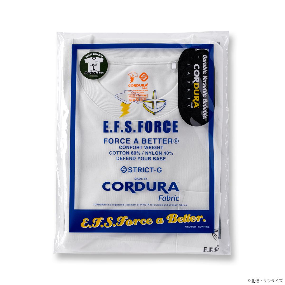 STRICT-G FAB『機動戦士ガンダム』CORDURA  ポケットTシャツ E.F.S.F.