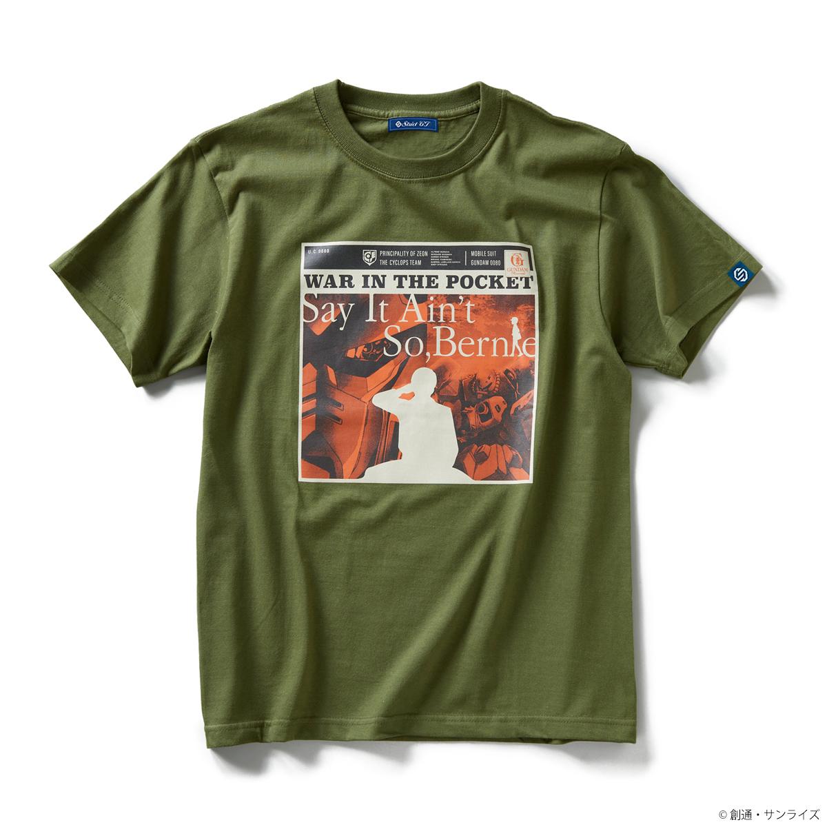 STRICT-G GUNDAM RECORDS 『機動戦士ガンダム 0080ポケットの中の戦争』Tシャツ