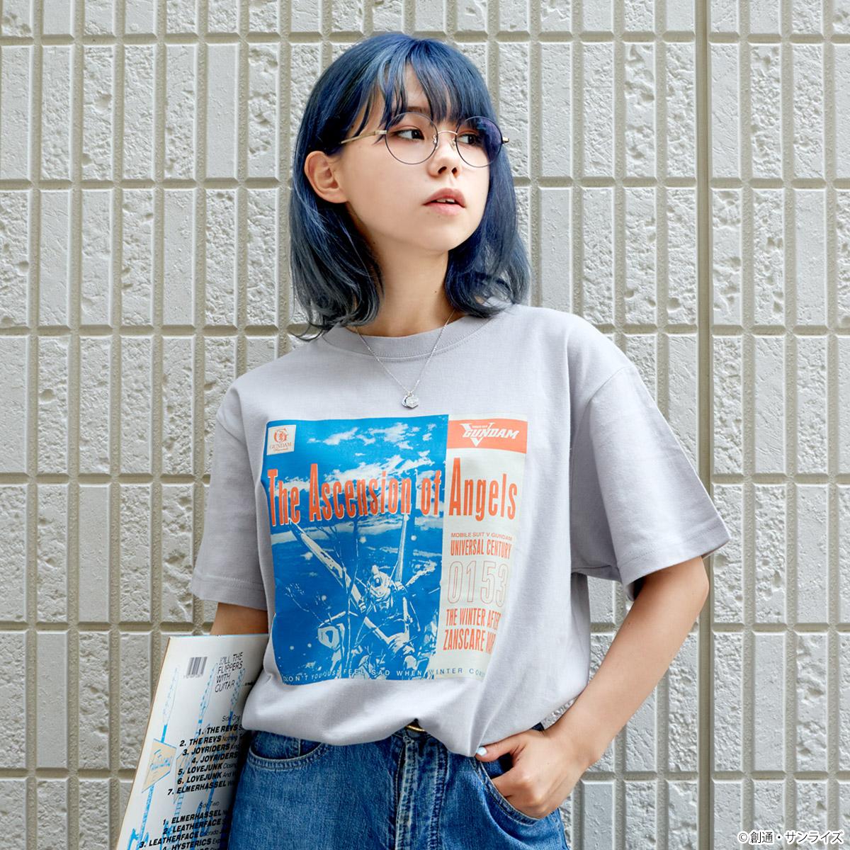 """""""ガンダムの記憶(レコード)を着る"""" Tシャツシリーズ、「GUNDAM RECORDS」第六弾、全3種登場!"""