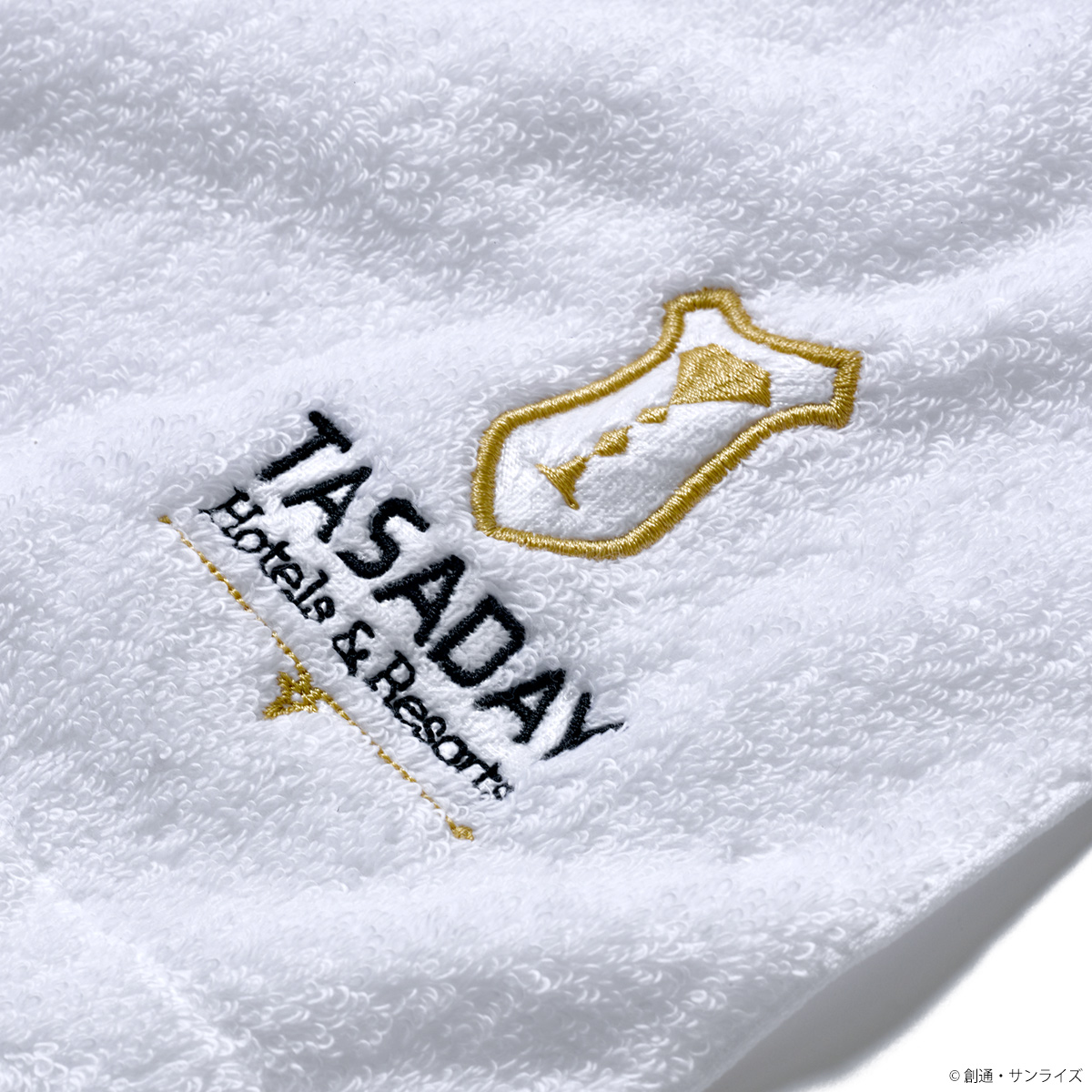 映画『機動戦士ガンダム 閃光のハサウェイ』の舞台となる、タサダイ・ホテルのグッズをイメージしたコレクション登場!