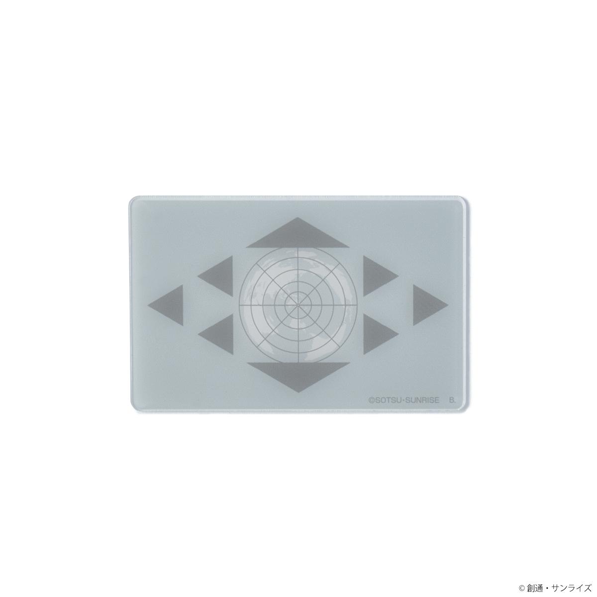STRICT-G『機動戦士ガンダム 閃光のハサウェイ』 TASADAY HOTELS レザーカードケース