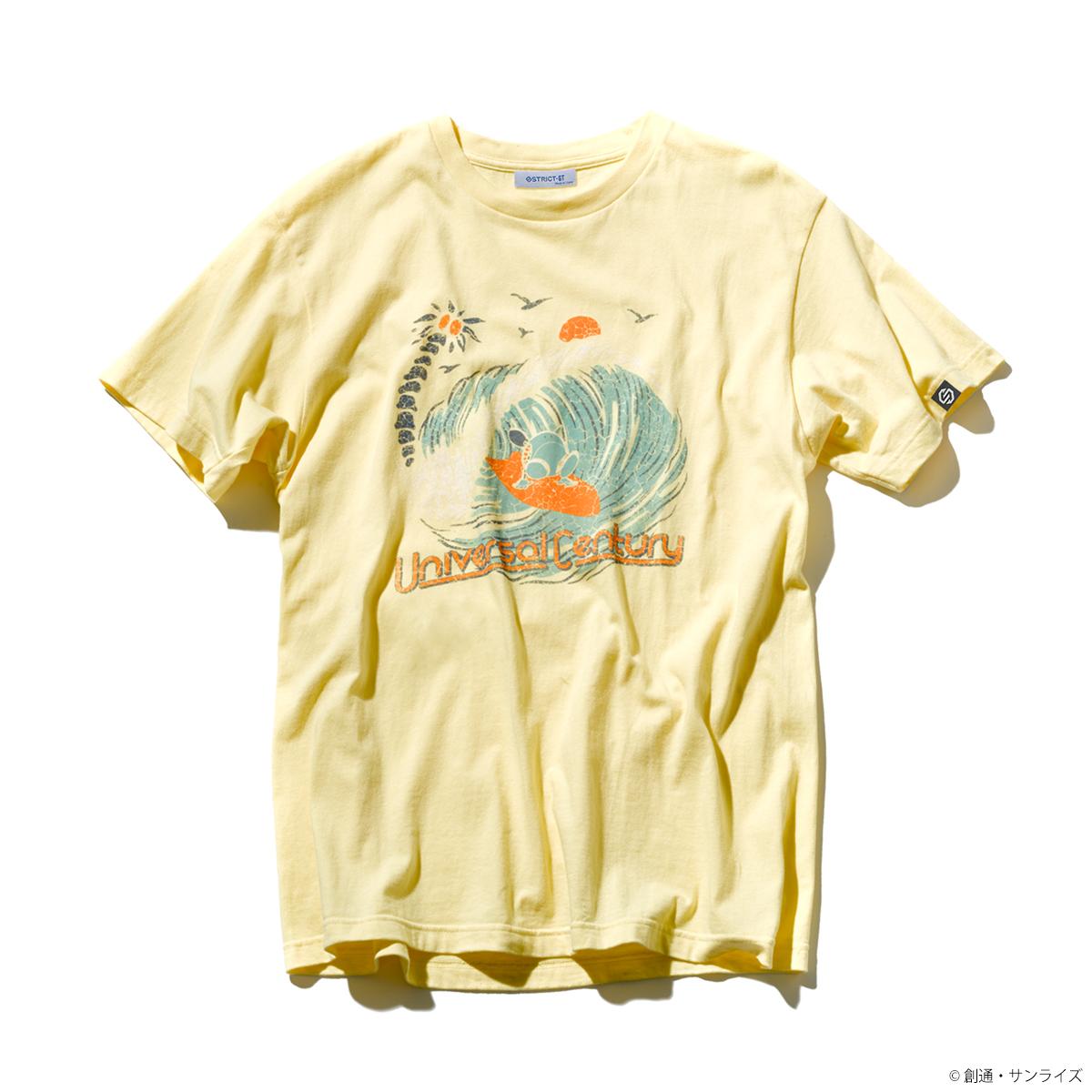 「ガンダム」シリーズ、サーフTシャツ登場、夏らしさを演出する、ヴィンテージ感の有るコレクション!