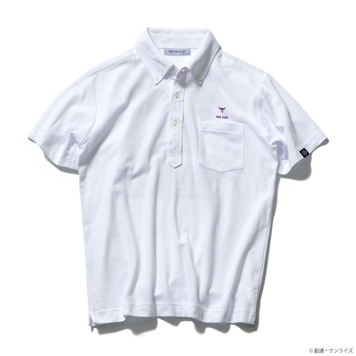STRICT-G『機動戦士ガンダムZZ』 ポケットボタンダウンポロシャツ キュベレイ