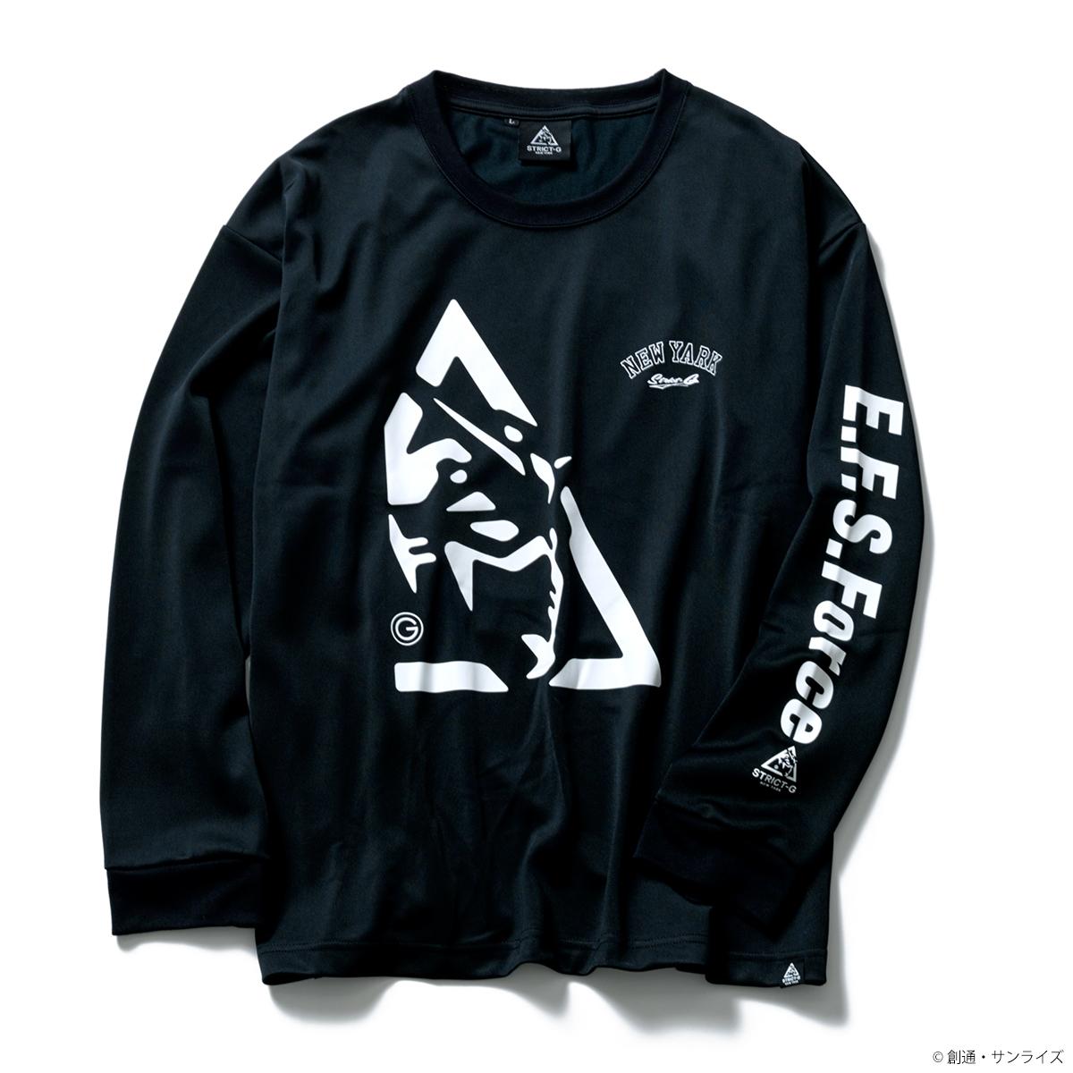 STRICT-G NEW YARK オーバーサイズドライ長袖Tシャツ E.F.S.FORCE