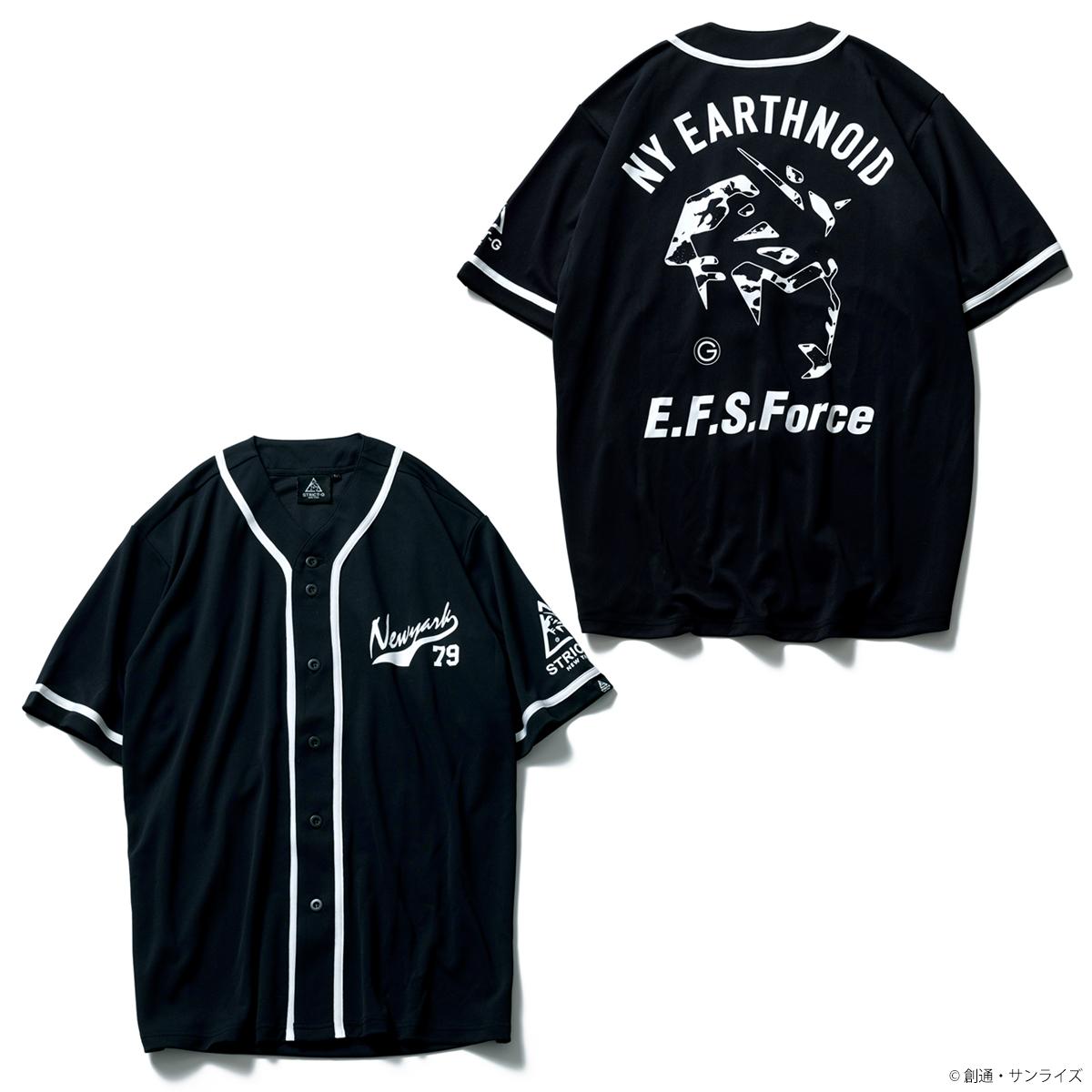 STRICT-G NEW YARK ドライベースボールシャツ E.F.S.FORCE