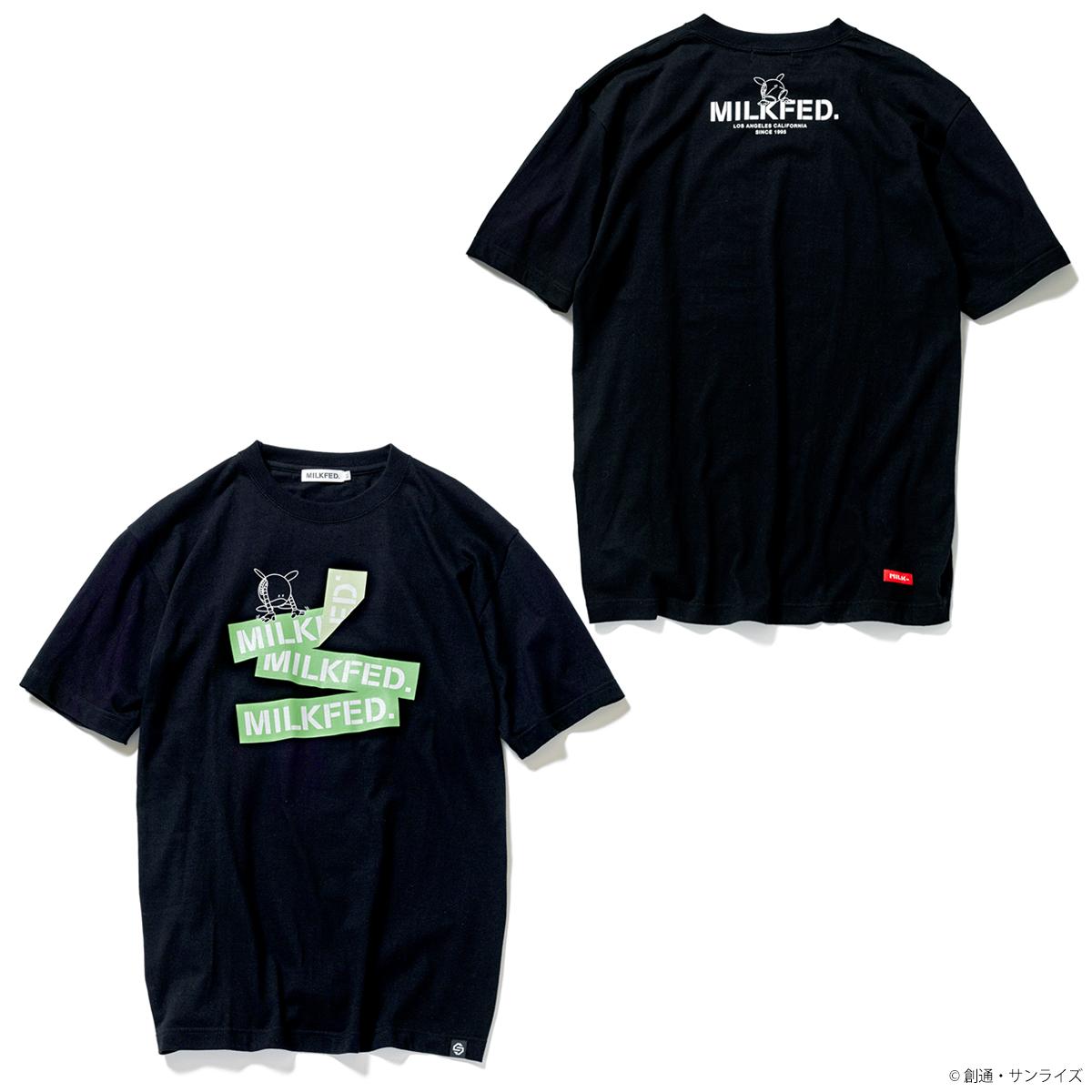 STRICT-G MILKFED.『機動戦士ガンダム』 Tシャツ ハロ グリーンBARロゴ