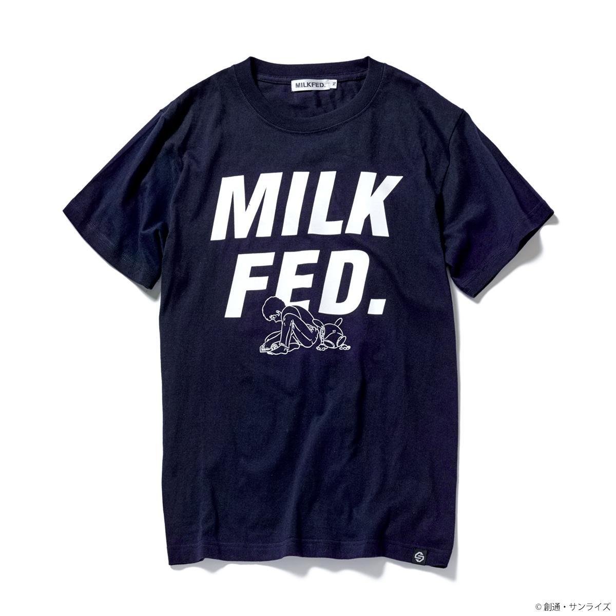 STRICT-G MILKFED.『機動戦士ガンダム』 Tシャツ アムロ・レイ