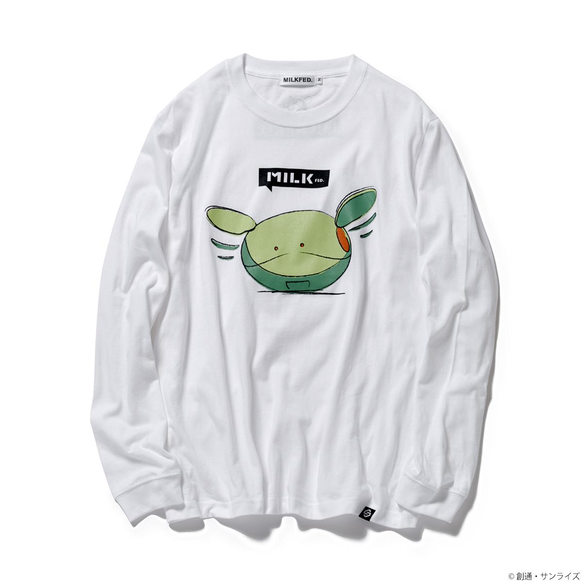 STRICT-G MILKFED.『機動戦士ガンダム』 長袖 Tシャツ パタパタ ハロ
