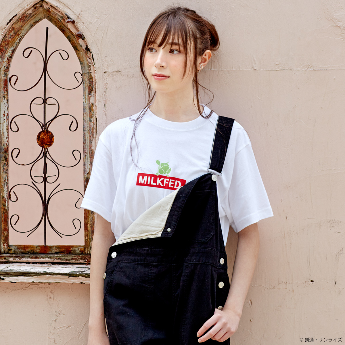STRICT-G MILKFED.『機動戦士ガンダム』 Tシャツ ハロ バックロゴ