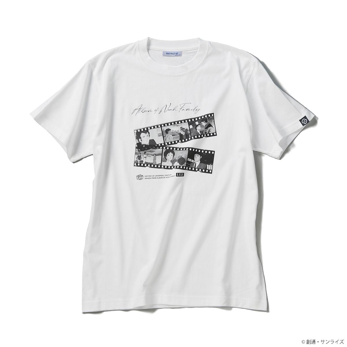 ブライト・ノア、ミライ、ハサウェイ・ノア等の登場シーン、「ノア家のアルバム」Tシャツコレクション登場!