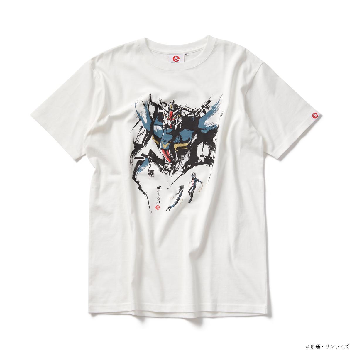 STRICT-G JAPAN 「機動戦士ガンダム 0083」 Tシャツ 筆絵 試作1号機
